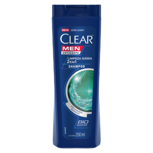 imagem de frente embalagem Shampoo Limpeza diaria 400ml