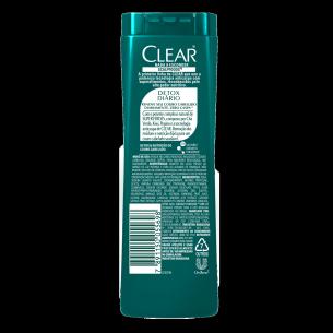 imagem de trás da embalagem Shampoo Anticaspa Detox Diário 200ml