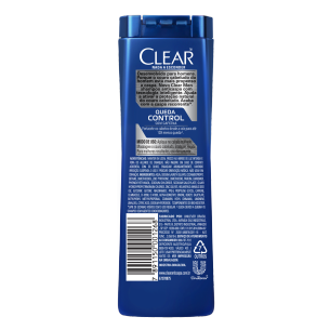 imagem de trás da embalagem Shampoo Anticaspa Queda Control 400ml