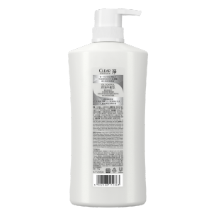 清扬去屑洗发露控油平衡型白瓶 500g