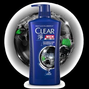 淨 男士 去屑洗髮乳 深層淨碳型 750ml
