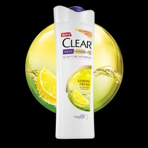 CLEAR Fresh Cool Lemon Shampoo 160 ml gambar depan kemasan