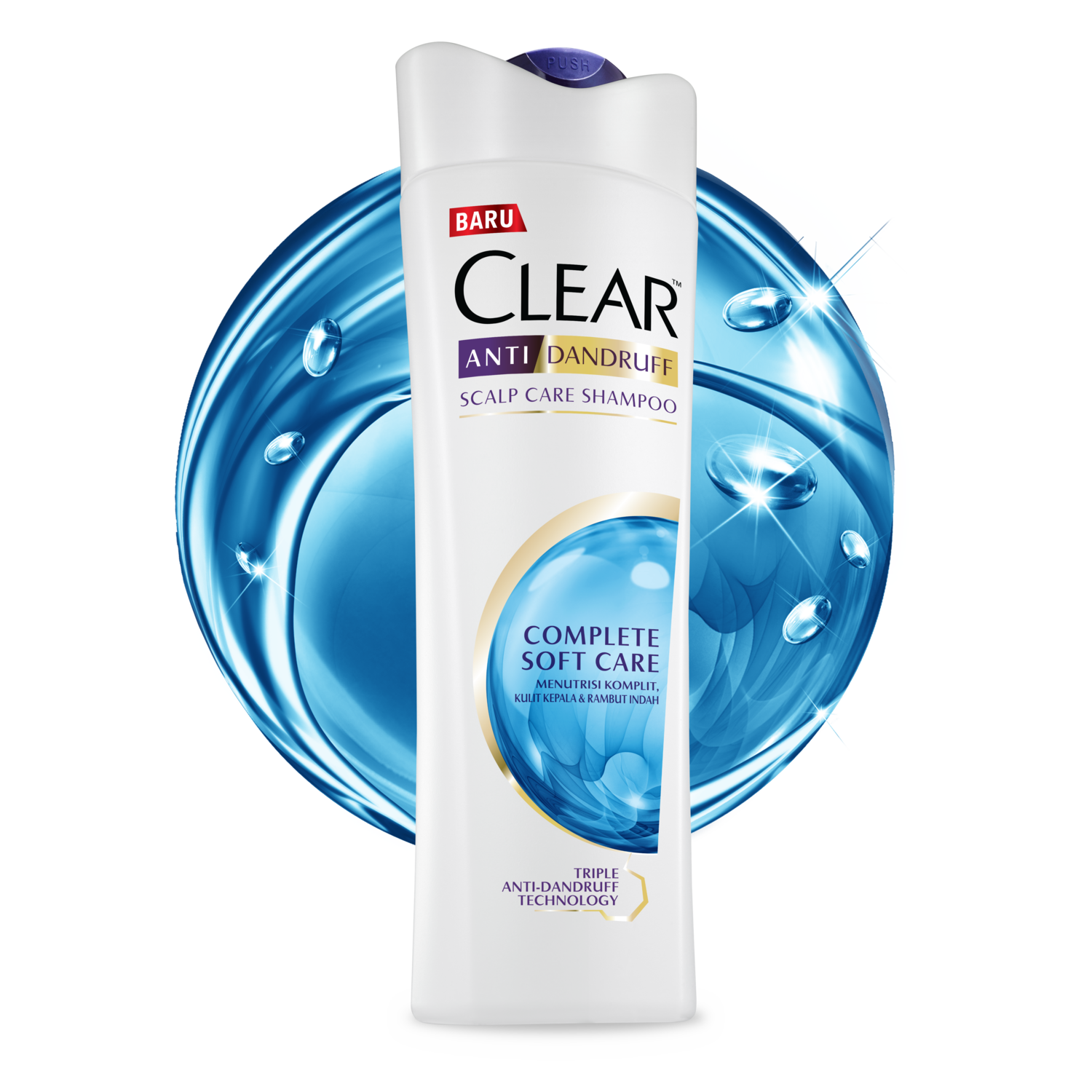 Clear Complete Soft Care Shampoo 80ml Strong Ampamp 340 Ml