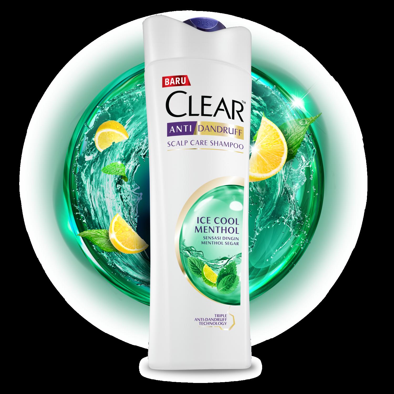 Shampo CLEAR MEN Complete Care 80 ml gambar depan kemasan