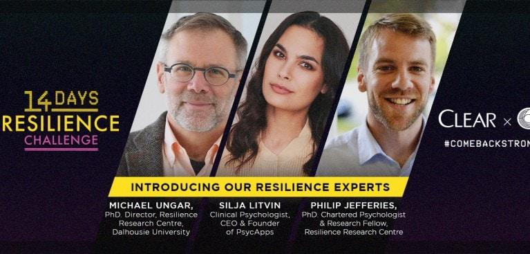Come sviluppare la resilienza in 14 giorni | LA SFIDA DI CLEAR