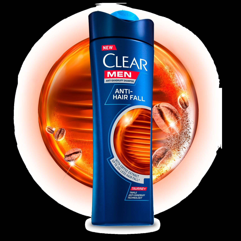 Clear Men Anti Hair Fall Anti Dandruff Shampoo