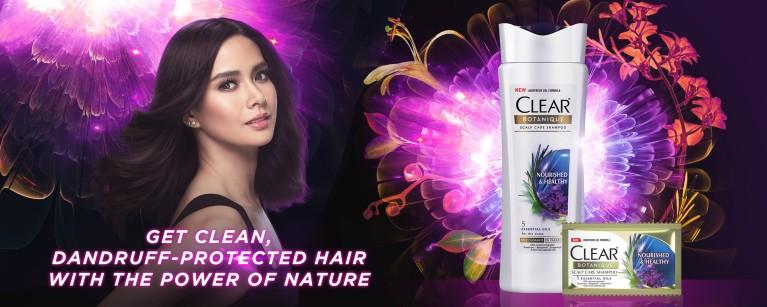 Clear Herbal Anti Dandruff Shampoo