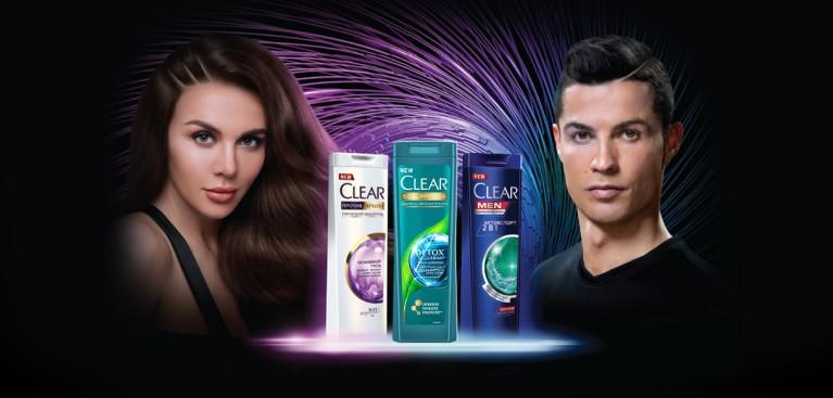 CLEAR: Главная страница Седокова Рональдо