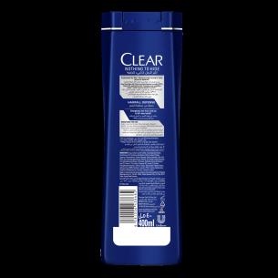 Back of shampoo pack Hair Fall Defense Men Shampoo 90ml