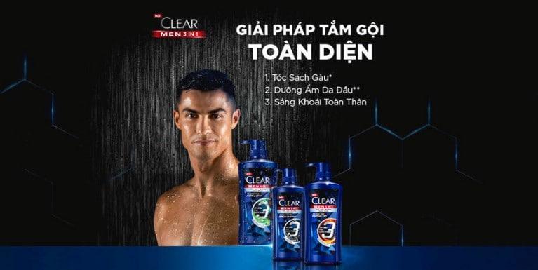 CLEAR Men 3 in 1